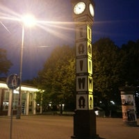 Photo taken at Laimas Pulkstenis   Laima clock by Quynh A. on 7/28/2013