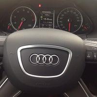 Photo taken at Jack Daniels Audi Paramus by Kathy M. on 12/20/2013