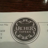 Photo taken at Archer's Tavern by Greg K. on 10/18/2012