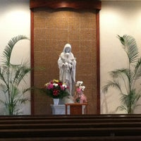 Photo taken at Co-Cathedral Of St. Theresa by Katrina C. on 6/9/2013