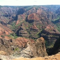 Photo taken at Waimea Canyon Lookout by Katrina C. on 10/5/2012