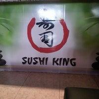 Photo taken at Sushi King by Fernando N. on 3/16/2013