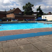 Photo taken at Ware Priory Lido by Shaun M. on 6/1/2014