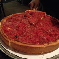 Photo taken at Zachary's Chicago Pizza by Kat S. on 4/20/2013