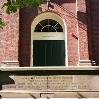 Photo taken at Harvard Hall by 席子 on 6/16/2013