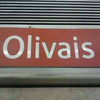 Photo taken at Metro Olivais [VM] by Gonçalo M. on 4/26/2013