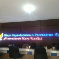 Photo taken at Dispenduk & Capil Kota Kediri by Sugiharto S. on 7/22/2016