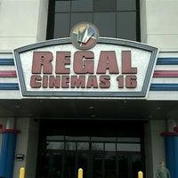 Photo taken at Regal Cinemas Brandywine Town Center 16 by Nick L. on 12/2/2012