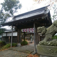 Photo taken at 黒石神社 by Ryoei K. on 11/11/2017