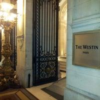 Photo taken at The Westin Paris – Vendôme by SangWun Y. on 11/4/2012