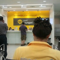 Photo taken at ธนาคารกรุงศรีอยุธยา (KRUNGSRI) by เอ๋ง ท. on 10/19/2012