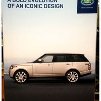 Photo taken at Land Rover Charlotte by Justin on 11/24/2012