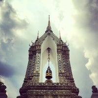 Photo taken at Wat Pho by Jefford N. on 5/6/2013