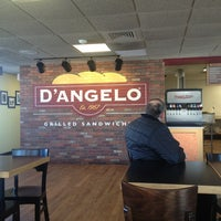 Photo taken at D'Angelo Grilled Sandwiches by Wesley B. on 1/5/2013