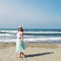 Photo taken at Lido Beach Spiaggia Libera Lido Di Camaiore by Anna Z. on 9/22/2014