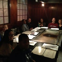 Photo taken at Wasabi Japanese Steakhouse by Erin T. on 2/24/2013