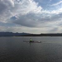 Photo taken at Crowley Lake by Cynthia H. on 6/28/2015