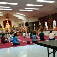 Photo taken at Wat Mongkoltepmunee (Thai Buddhist Temple) by Atakorn T. on 7/20/2014