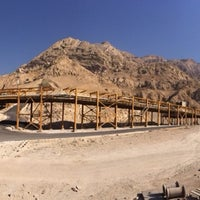 Photo taken at South Pars Gas Feild Development Phases 17 & 18 by Farzad S. on 1/29/2014