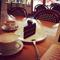 Photo taken at Trafiq Café & Bakery by Theressa M. on 4/13/2013