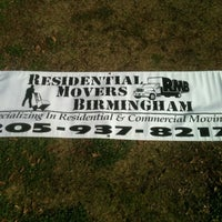 Photo taken at Residential Movers Birmingham by Andre B. on 3/13/2013