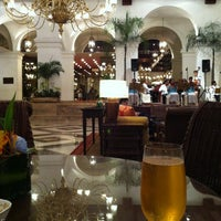 Photo taken at Centennial Hall (Manila Hotel) by ก.จารุ ส. on 10/14/2012