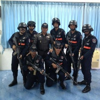 Photo taken at Marine Police Division by ก.จารุ ส. on 7/11/2013