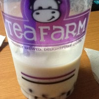 Photo taken at Teafarm by Sha V. on 4/4/2013