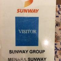 Photo taken at Menara Sunway by Annah D. on 8/24/2016