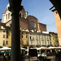 Photo taken at Osteria delle Erbe by Filippo G. on 10/7/2012