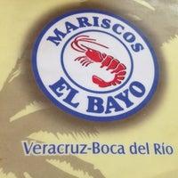 Photo taken at Mariscos El Bayo by Luis H. on 10/20/2012