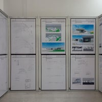 Photo taken at Gallery of Architectural Engineering by Nujoud A. on 5/22/2014