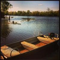 Photo taken at Henderson Swamp by Rachel C. on 4/5/2013