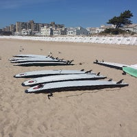 Photo taken at Beach 30th Street by Julia C. on 9/7/2013