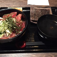 Photo taken at 三陸食堂 にし輝 by Hideo O. on 10/17/2014