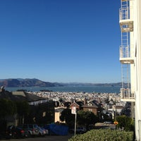 Photo taken at Fillmore Stairs by Ben 🐱 W. on 2/9/2013