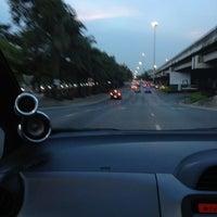 Photo taken at Wat Rama IX Intersection by Weeda W. on 10/23/2012