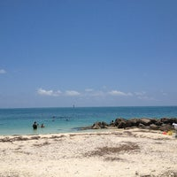 Photo taken at Fort Zachary Taylor State Park Beach by Suzanne R. on 7/27/2013