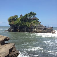 Photo taken at Tanah Lot Temple by Ekaterina C. on 5/12/2013