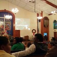 Photo taken at Zion Travelers M B Church by Ketina M on 12/20/2015