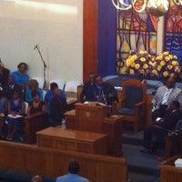 Photo taken at Zion Travelers M B Church by Ketina M on 7/13/2014
