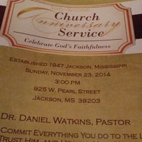 Photo taken at Zion Travelers M B Church by Ketina M on 11/23/2014