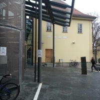 Photo taken at ThULB Main Building by Florian F. on 1/3/2013