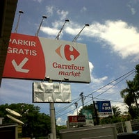 Photo taken at Carrefour by Henry K. on 3/10/2013