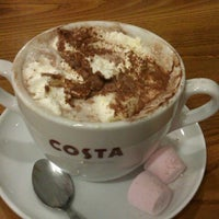 Photo taken at Costa Coffee by Gareth B. on 12/27/2012
