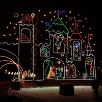 Photo taken at Lights On The Lake by Sunny on 12/27/2013
