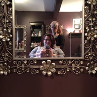 Photo taken at Innovations Salon & Day Spa by Sunny on 12/13/2014