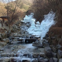 Photo taken at 비슬산자연휴양림 by Mini T. on 2/11/2013