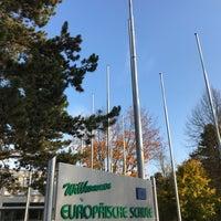 Photo taken at Europäische Schule Karlsruhe (ESK) by Daniel W. on 10/31/2017