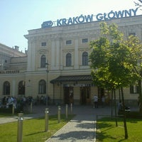 Photo taken at Kraków Główny by Maria K. on 6/18/2013